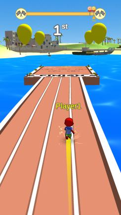 Bouncy Race 3D - iphone